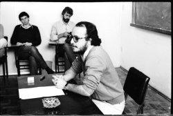 Aula de Adelmo Genro Filho na UFSC (03/06/1981 - foto 1)