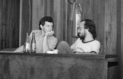 Na UFSC, com Adelmo Genro Filho (1981)