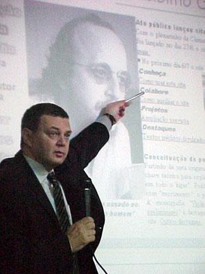 Lançamento do site de Adelmo Genro Filho em Porto Alegre (1999)